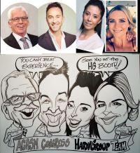 roving caricature